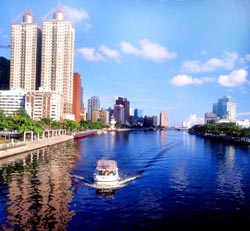 Kaohsiung City  Love River
